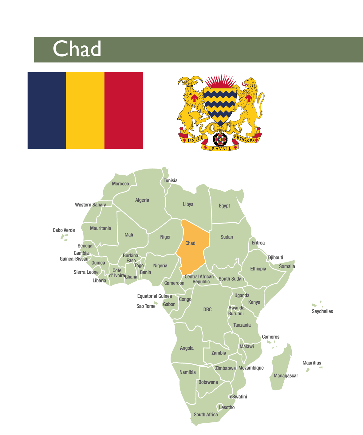 chad staff monitored program african dept international monetary fund