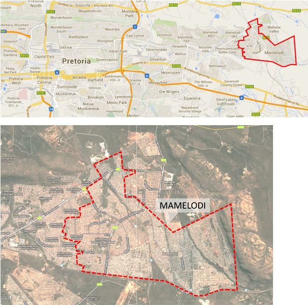 A Visit to Mamelodi South Africa with Dr Mark Napier CAHF