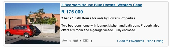 blue downs R175k